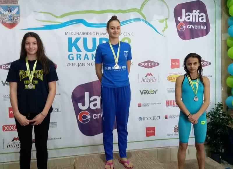 Iva Petković donela još tri medalje u Leskovac