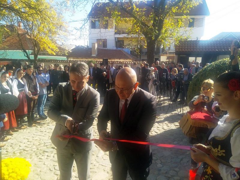 Ministar kulture svečano otvorio rekonstruisanu Muzej kuću Bore Stankovića