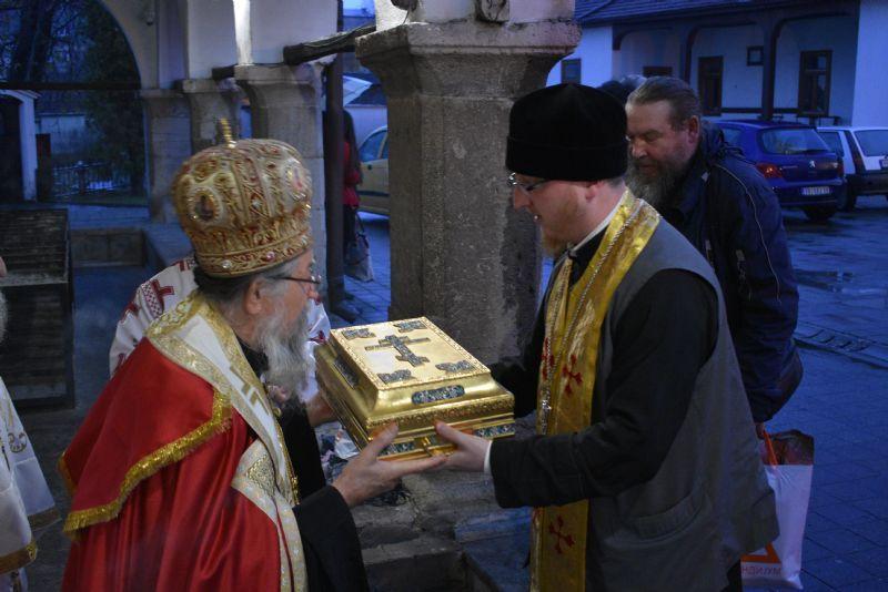 Mošti ruskih svetitelja stigle u Eparhiju vranjsku