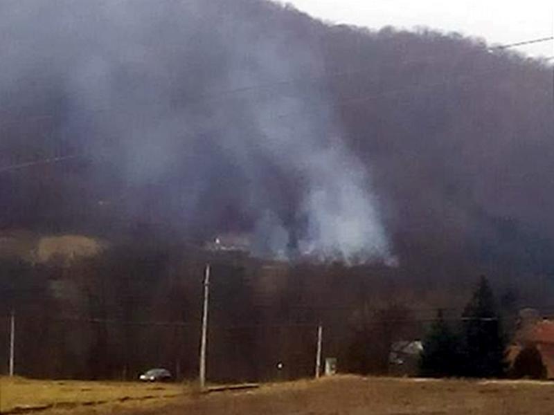 Sveće na Mitrovskim zadušnicama izazvale požar
