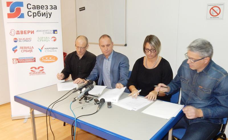 Savez za Srbiju formiran i u Leskovcu (VIDEO)