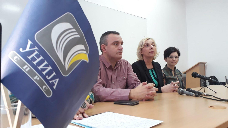 Vrh Unije sindikata prosvetnih radnika iz Leskovca pozvao na ujedinjenje