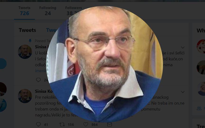 Siniša Kovačević zbog zabrane Sergeja poštom vraća nagradu, publika vraća karte za festival
