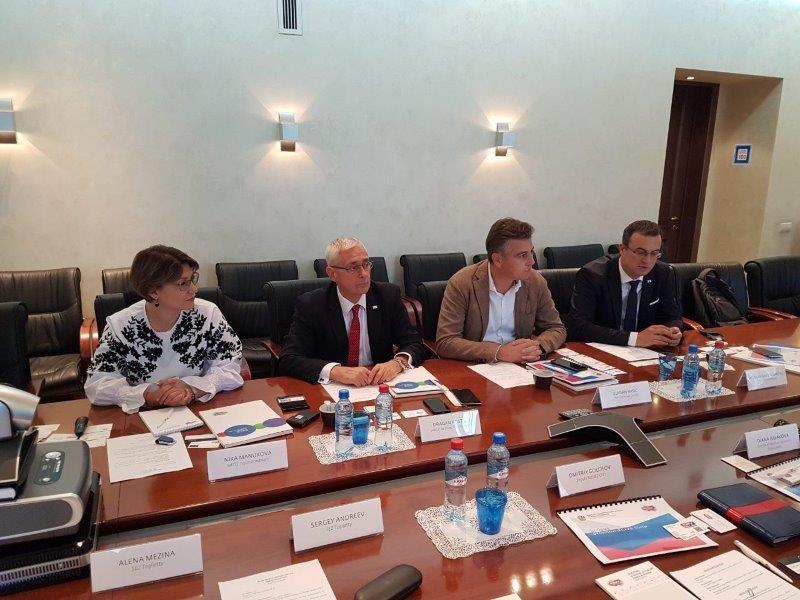 Sastanak predstavnika Svetske organizacije slobodnih zona u Moskvi