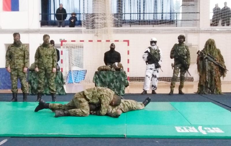 Vlasotinčane oduševio taktičko-tehnički zbor srpske vojske