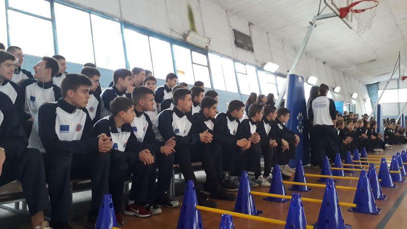 Od EU  vredna košarkaška oprema Leskovcu, u planu otvaranje trenižnog centra