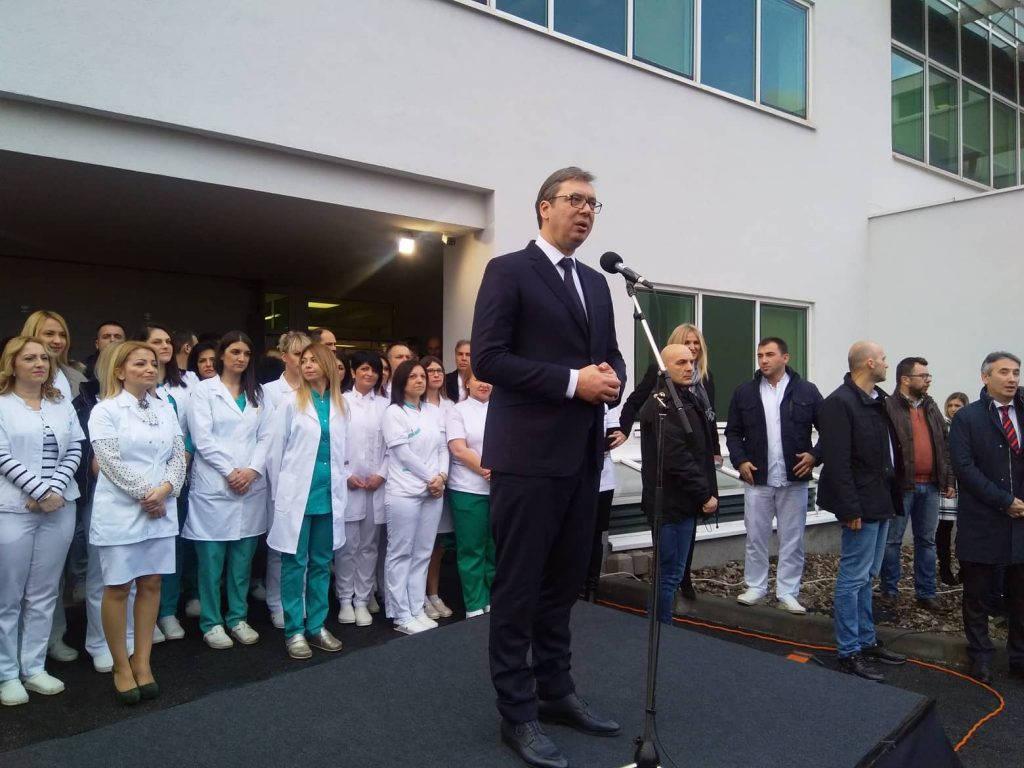 Vučić: Vranje je srce Srbije