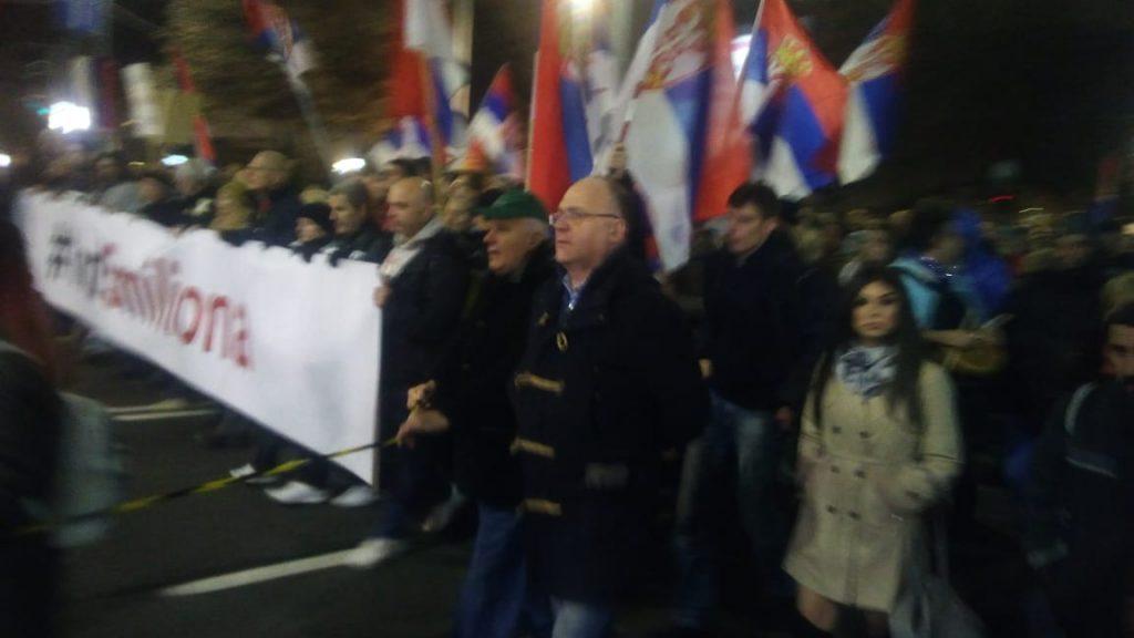 Jug Srbije i na protestima u Beogradu, obratio se i Desko iz Rakite (VIDEO)