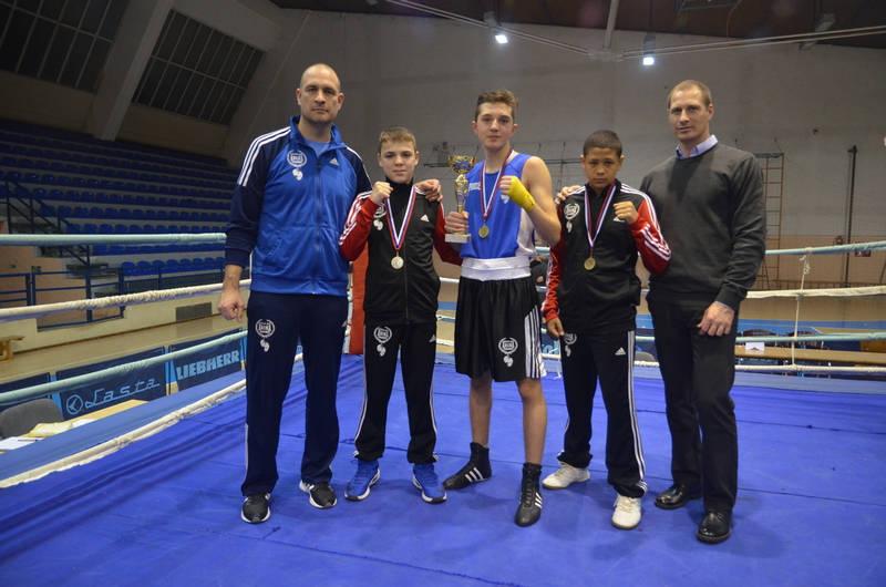 Bokseri iz Vlasotinca pokupili nagrade na Međunarodnom turniru u Aleksincu