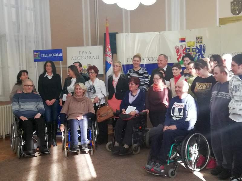 Za osobe sa invaliditetom sledeće godine više novca iz gradskog budžeta