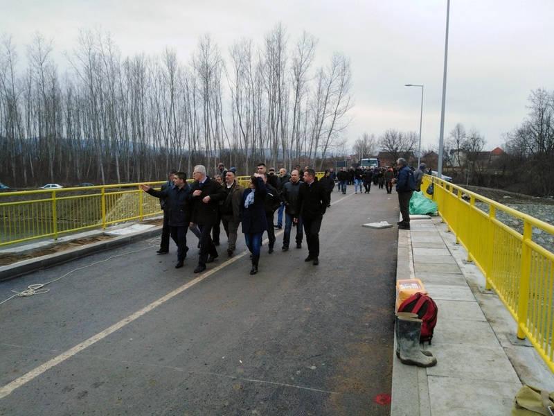 Meštani Konopnice od danas prelaze Vlasinu preko novog mosta
