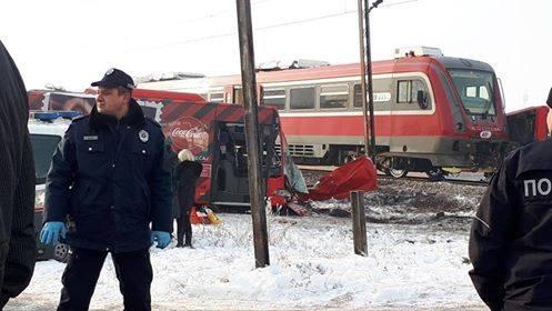 I POLICIJA PLAČE U sudaru voza i autobusa poginule tri i povređeno 26 osoba (VIDEO)