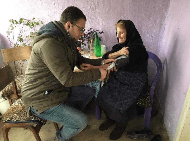 Besplatni lekarski pregledi u grdeličkom kraju