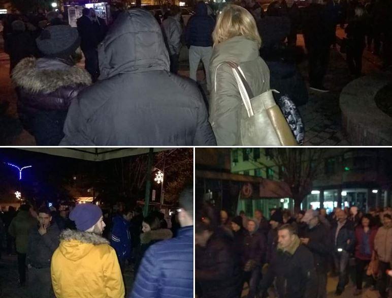 Protest Kuršumličana protiv lokalne vlasti