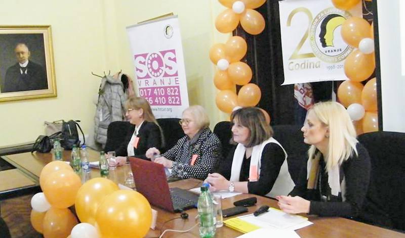 Preko 200 poziva žena na SOS telefon za godinu dana