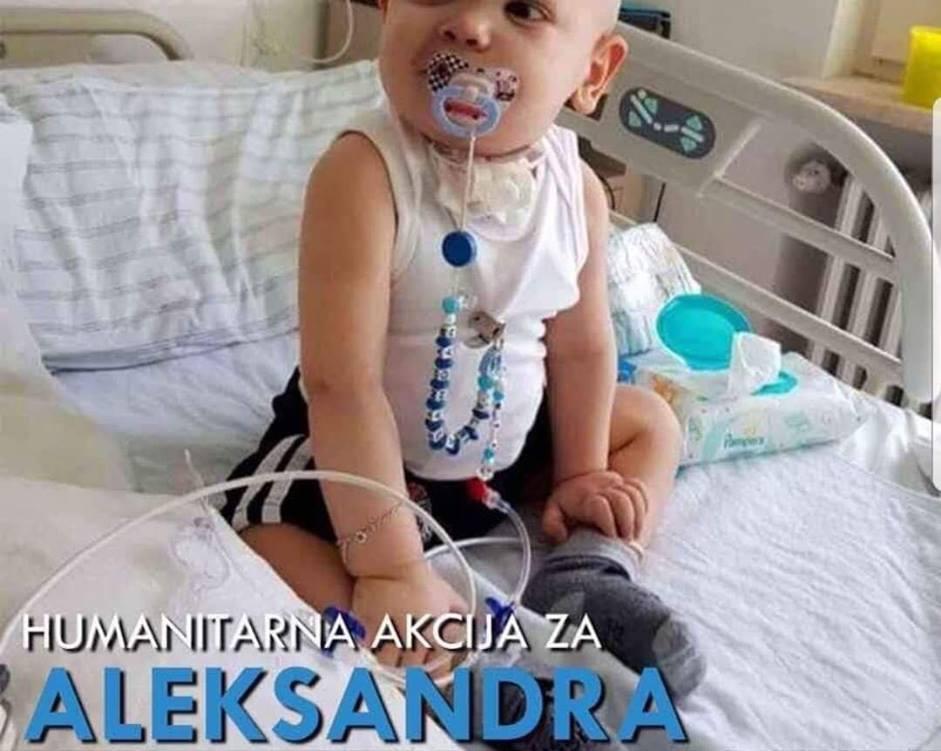 Navijači Dubočice prikupljaju novac za lečenje malog Aleksandra
