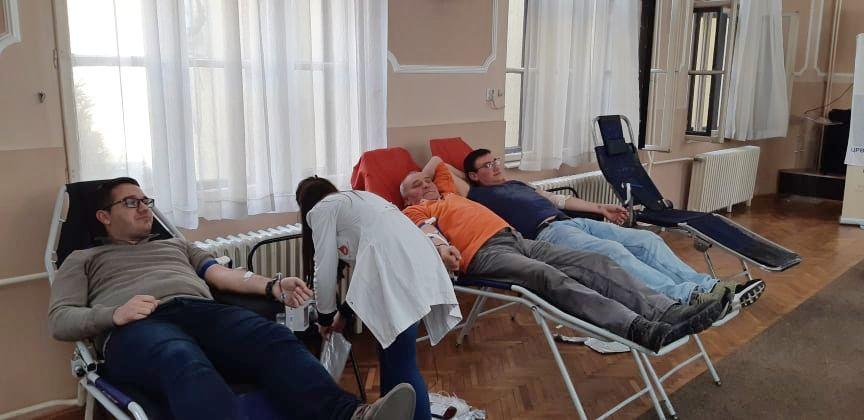 Akcija davanja krvi u četvrtak u sali Skupštine grada Leskovca