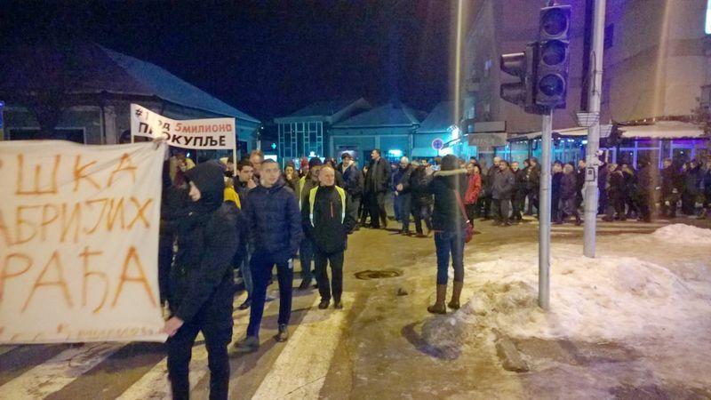 Novi protesti u Kuršumliji, naredni na Merdaru