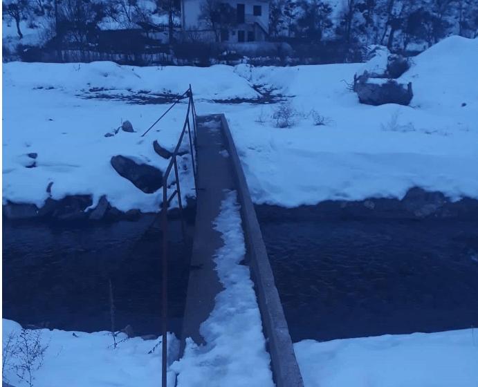 Gradnja mosta kao Skadar na Bojani