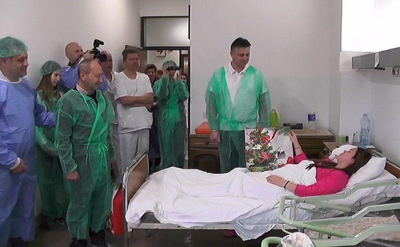 Prva beba u Pirotu rođena 2. januara
