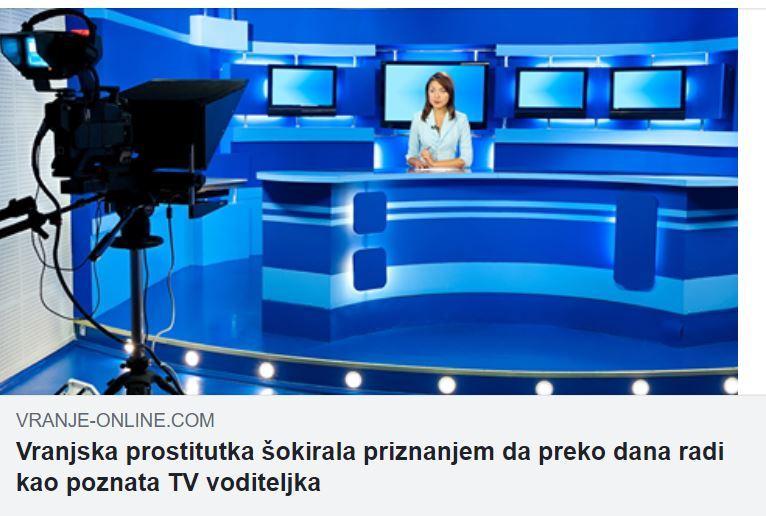 GNUSNO Vransjke novinarke nazvali prostitutkama