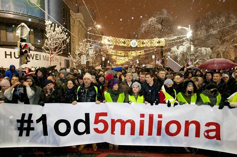 "Protest ""1 od 5 miliona"" u subotu i u Leskovcu?"