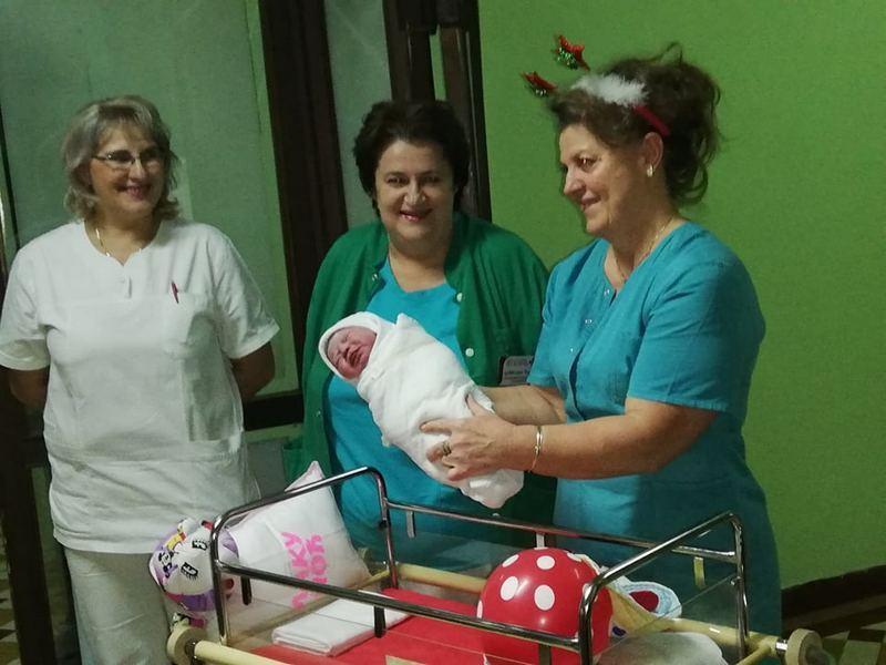 Prva beba rođena u prvom minutu u 2019. godini