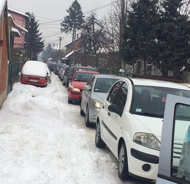 Kolaps saobraćaja u Leskovcu
