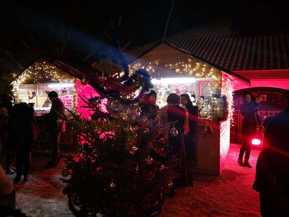 Božićno seoce na otvorenom