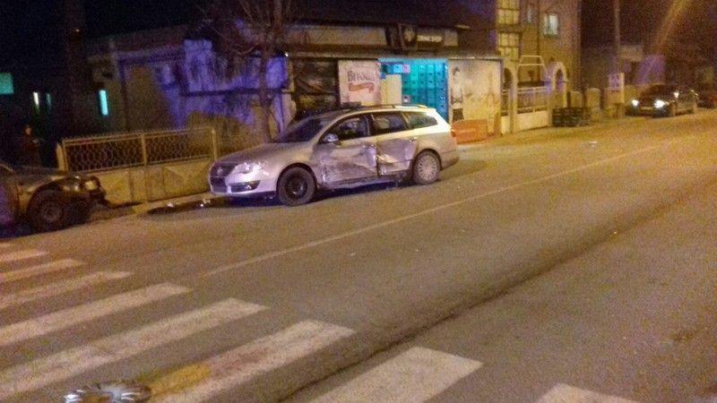 Sudar tri vozila u centru Lebana