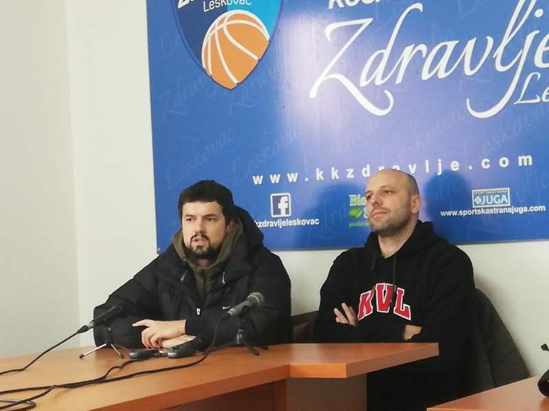 Košarkaši Zdravlja protiv Vrbasa u subotu