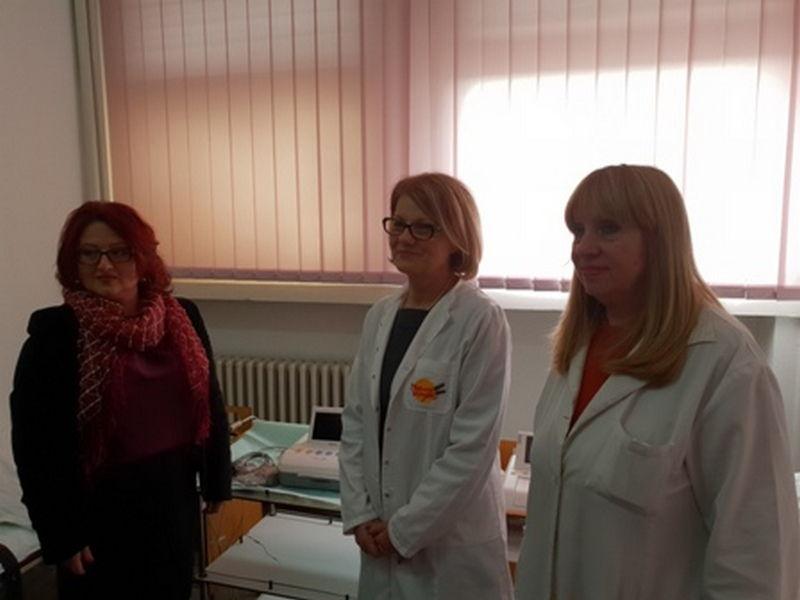 Jumko poklonio tri CTG aparata Zdravstvenom centru