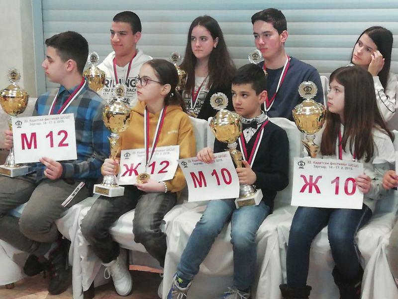 Šahistkinja Sofija Stojanović ponovo na pobedničkom postolju