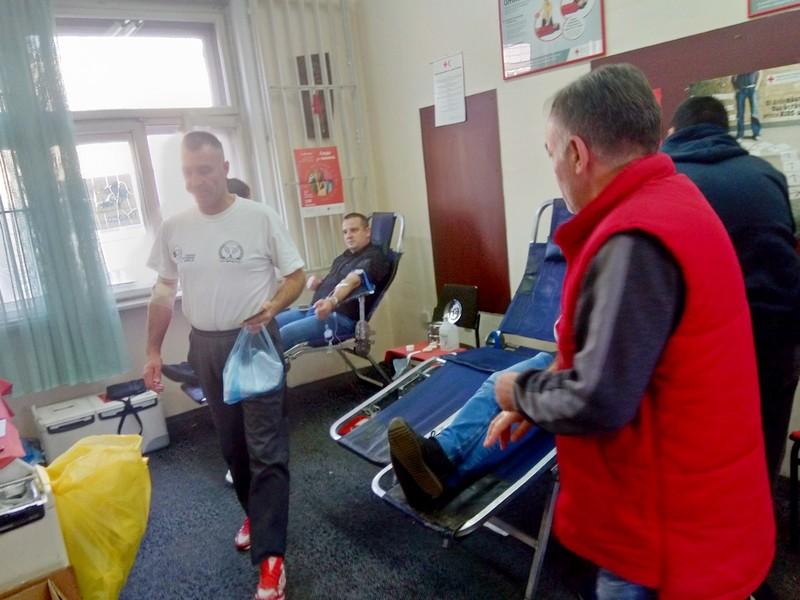 U Crvenom krstu prikupljeno preko 50 jedinica krvi