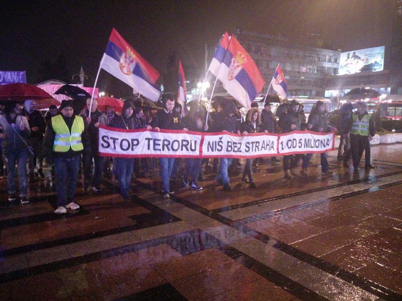 Umesto protestne šetnje, od subote u Nišu Slobodna zona