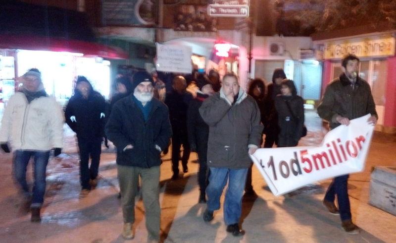 Demonstranti: Hoćemo normalnu državu