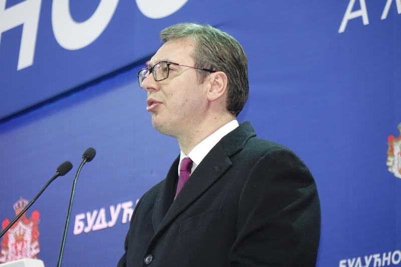 Vučić: Dodatak od 10% na plate u Jablaničkom, Pčinjskom i Topličkom okrugu