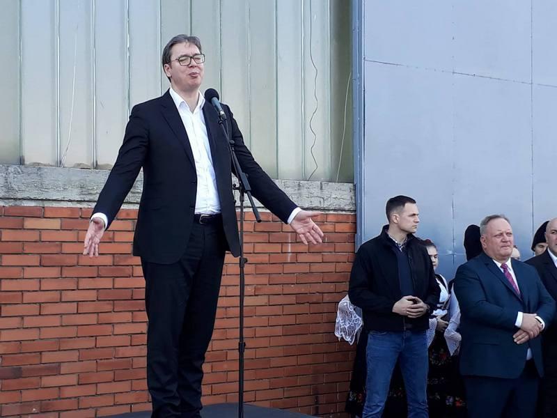 Vučić: Medveđa i Sijarinska Banja su Srbija i to će ostati