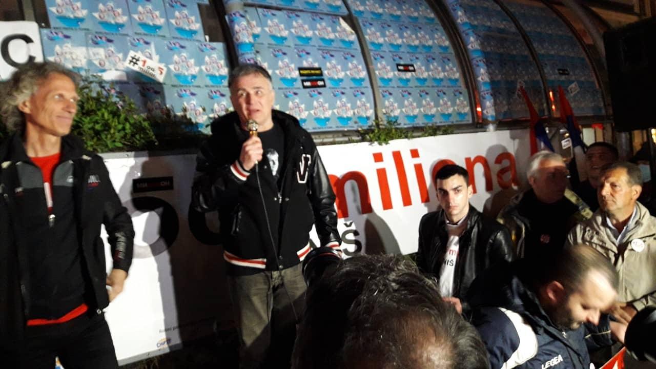 Lečić i Đilas u Nišu: Naša bitka je mnogo ozbiljnija od obične političke promene
