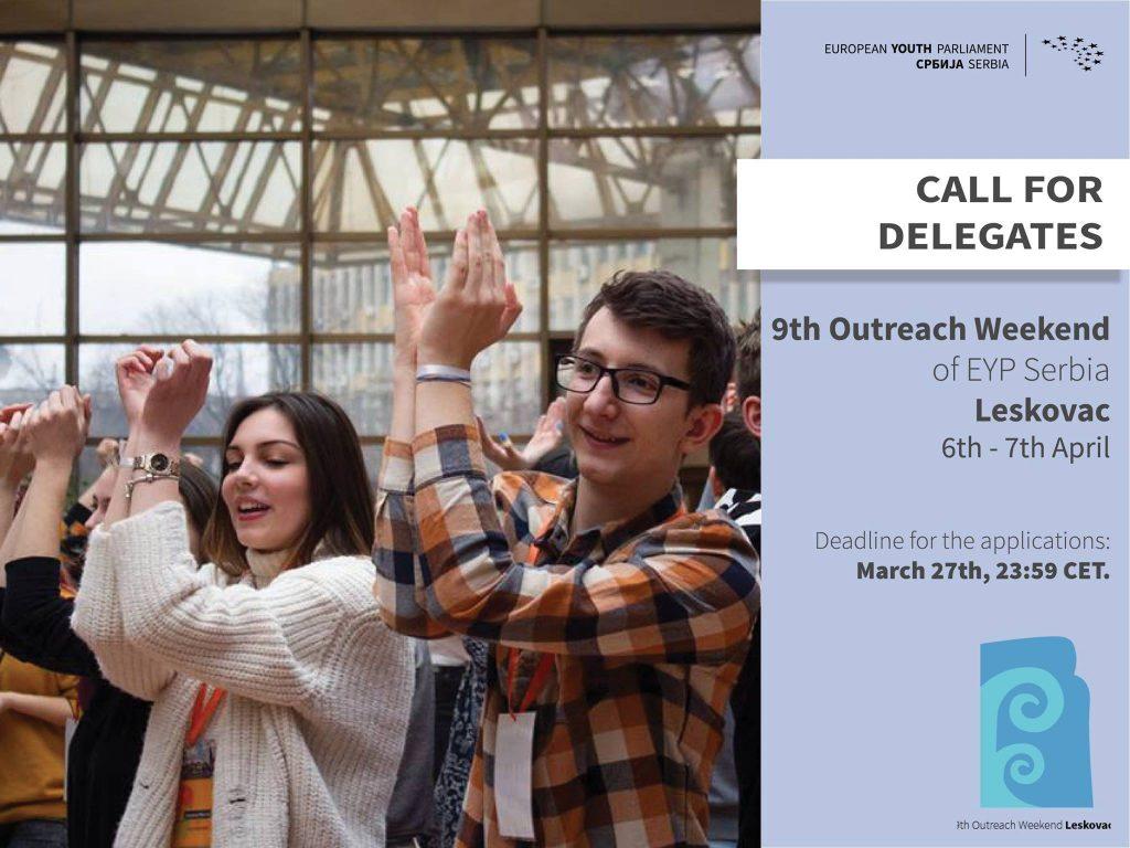 Postanite delegat Evropskog omladinoskog parlamenta iz Leskovca