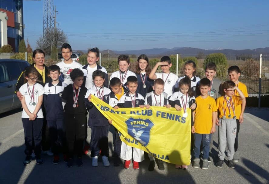 "Mladi karatisti ""Feniksa"" osvojili 45 medalja u Vlasotincu"