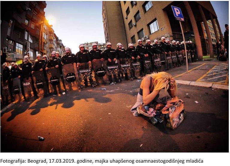 Narodna stranka Leskovac osuđuje nasilnu reakciju policije prema protestantima