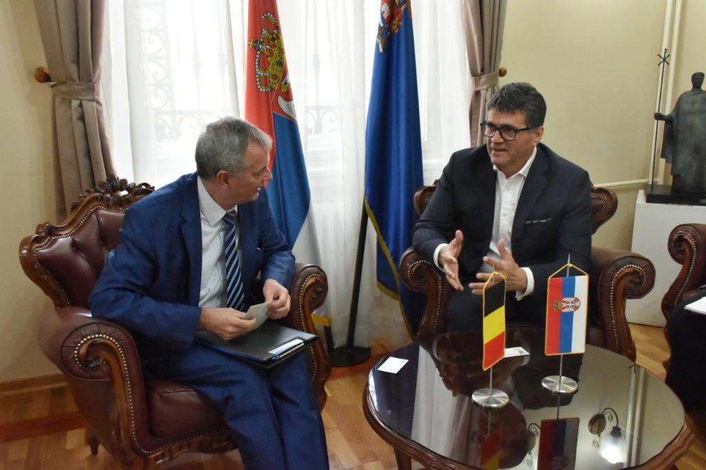 Belgijski ambasador: Niš zanimljiv za naše investitore