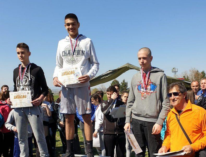 Masovno na atletskom takmičenju u Leskovcu