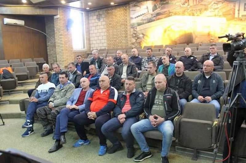 Prijem za borce sa karaula na Kosovu i Metohiji