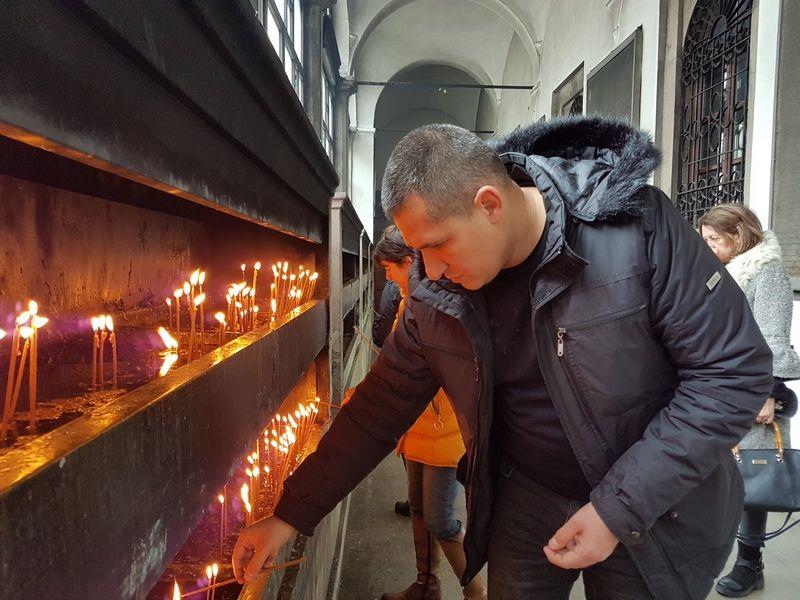 Šetnja i pomen Zoranu Đinđiću u Sabornom hramu