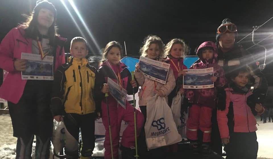 Najmlađi članovi Skijaškog kluba Besna kobila osvojili četiri medalje u Makedoniji