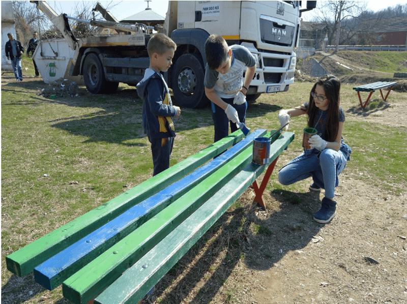 Akcija uređenja igrališta u Velikoj Biljanici
