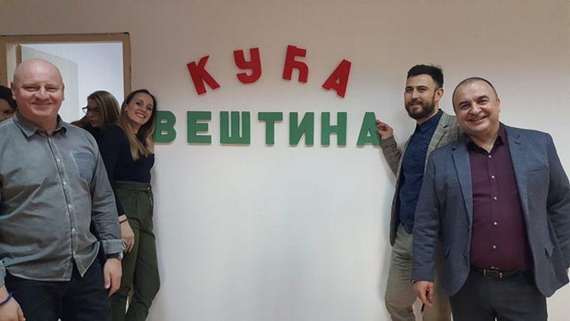 Otvorena Kuća veština u Leskovcu, mesto za druženje mališana, socijalizaciju i stručnu pomoć