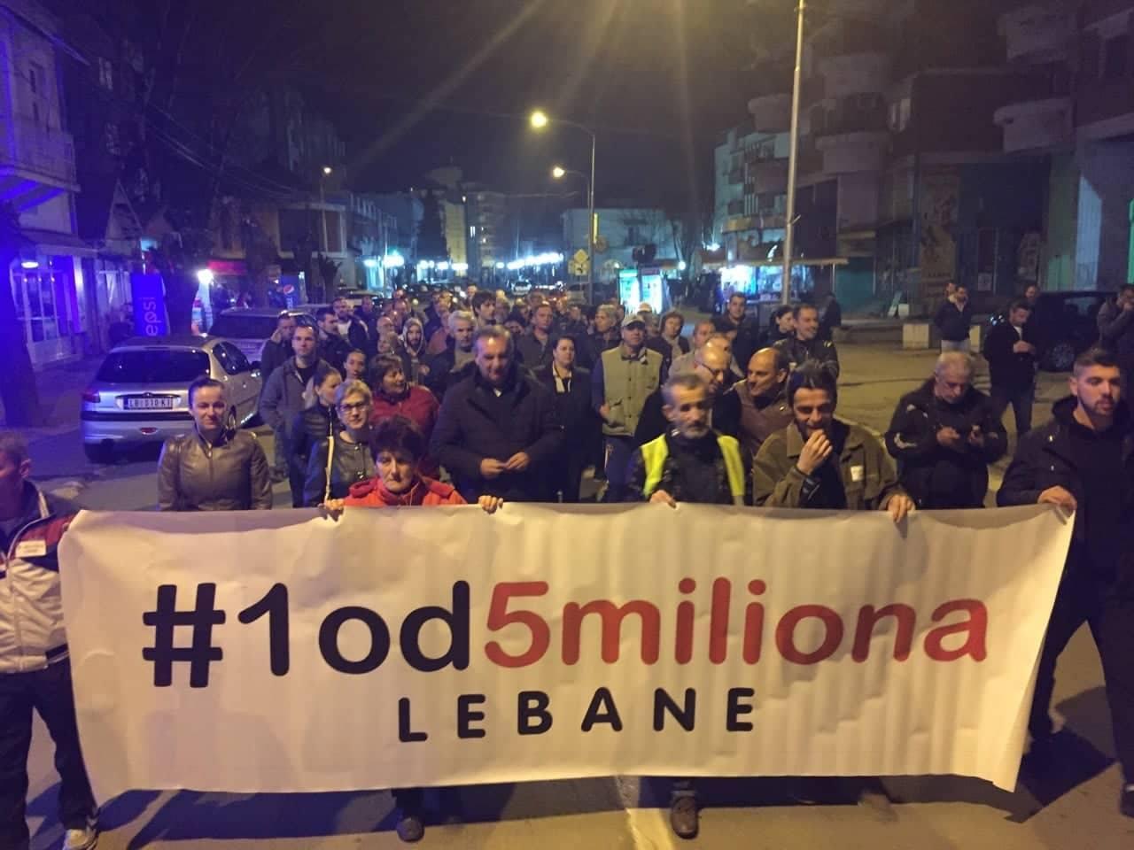 I na četvrtom protestu u Lebanu o javnim nabavkama